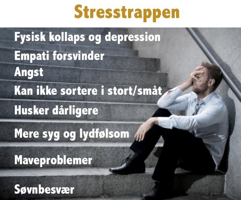 tegn på stress
