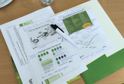 Kursus om stress på studiet